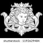 vector hand drawn illustration...   Shutterstock .eps vector #1192629484