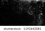 water bubbles floating on black ... | Shutterstock . vector #1192642081