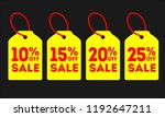 special offer sale tag discount.... | Shutterstock .eps vector #1192647211
