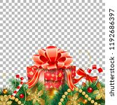 christmas and new year banner... | Shutterstock .eps vector #1192686397