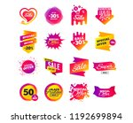 sale banner templates design.... | Shutterstock .eps vector #1192699894