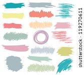 grunge design elements | Shutterstock .eps vector #119270611
