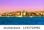 picturesque view of istanbul... | Shutterstock . vector #1192720981