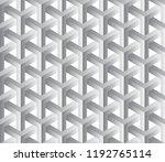 abstract 3d seamless geometric... | Shutterstock .eps vector #1192765114