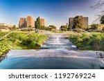 scenic fountain near the eur...   Shutterstock . vector #1192769224