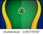 brazil flag color background... | Shutterstock .eps vector #1192770787