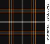 halloween tartan plaid....   Shutterstock .eps vector #1192776961
