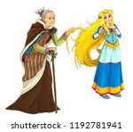 cartoon fairy tale character  ...   Shutterstock . vector #1192781941