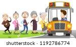vector illustration of group of ... | Shutterstock .eps vector #1192786774