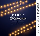 christmas background with...   Shutterstock .eps vector #1192808107