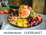 Fruit Carving For Wedding...