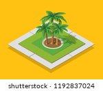 isometric urban environment in... | Shutterstock .eps vector #1192837024