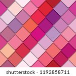 colorful palette seamless... | Shutterstock .eps vector #1192858711