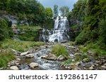 Waterfall At Chittenango Falls...