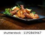 authentic portuguese garlic... | Shutterstock . vector #1192865467