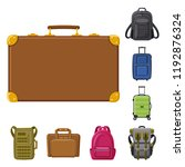 Vector Design Of Suitcase And...