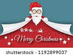 merry christmas and happy new... | Shutterstock .eps vector #1192899037