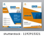cover book presentation... | Shutterstock .eps vector #1192915321