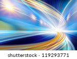 abstract speed motion in urban... | Shutterstock . vector #119293771