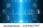 abstract background technology... | Shutterstock .eps vector #1192967797