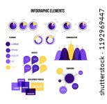 infographic elements  global... | Shutterstock .eps vector #1192969447