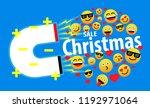 sale christmas  beautiful... | Shutterstock .eps vector #1192971064