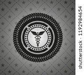caduceus medical icon inside... | Shutterstock .eps vector #1192984654