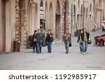 perugia  italy  may 13  2013 ... | Shutterstock . vector #1192985917