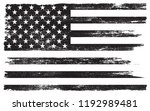 grunge black and white american ... | Shutterstock .eps vector #1192989481