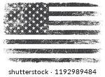 grunge black and white american ... | Shutterstock .eps vector #1192989484