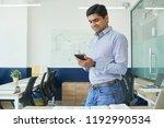 cheerful indian developer...