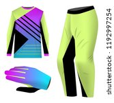 templates jersey for mountain... | Shutterstock .eps vector #1192997254