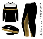 templates jersey for mountain... | Shutterstock .eps vector #1192997257