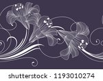 abstract seamless hand drawn... | Shutterstock .eps vector #1193010274