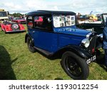 vintage austin seven car show... | Shutterstock . vector #1193012254