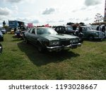 vintage cars show outdoor at... | Shutterstock . vector #1193028667