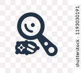 microbiology vector icon... | Shutterstock .eps vector #1193030191