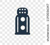 salt shaker vector icon... | Shutterstock .eps vector #1193036347