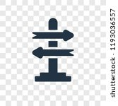 decision making vector icon... | Shutterstock .eps vector #1193036557