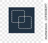 intersection vector icon... | Shutterstock .eps vector #1193038297
