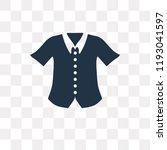 formal shirt vector icon... | Shutterstock .eps vector #1193041597