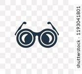 shutter sunglasses vector icon... | Shutterstock .eps vector #1193041801