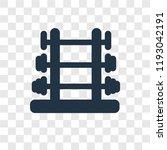 dumbbell vector icon isolated... | Shutterstock .eps vector #1193042191