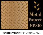 texture pattern of metal  steel ... | Shutterstock .eps vector #1193042347