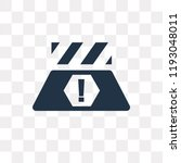 road barrier vector icon... | Shutterstock .eps vector #1193048011