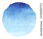 winter sky round gradient... | Shutterstock . vector #1193050771
