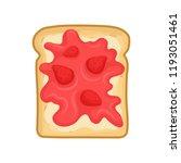 flat vector icon of tasty... | Shutterstock .eps vector #1193051461