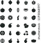 solid black flat icon set beet... | Shutterstock .eps vector #1193068597