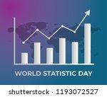 world statistic day... | Shutterstock .eps vector #1193072527