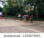 tel aviv israel september 28 ... | Shutterstock . vector #1193073901
